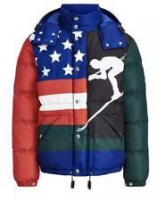 b30ebe72e7d0 Polo Ralph Lauren 1992 USA Ski Downhill Skier Coat Stadium Sportsman Jacket  S