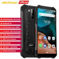 Ulefone Armor X5 4G Rugged Smartphone Octa Core Waterproof Cell Phone Unlocked
