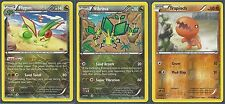 3 POKEMON EVO SET- FLYGON+VIBRAVA+TRAPINCH - XY Primal Clash ALL REV HOLO MINTm