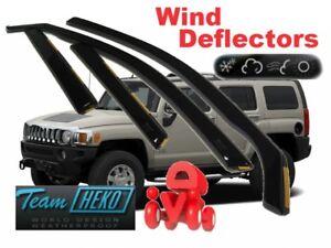 For HUMMER H3  2005 - 2010  5.doors  Wind deflectors 4.pc  HEKO 21506