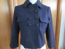 Women's kimchi&blue short crop navy blue jacket in size S with lining