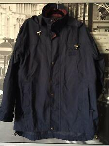 Sydney 2000 IBM Match Race Full zip Navy Button Hoodie Jacket S Line 7