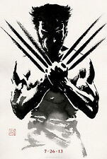 "RARE  ""LOGAN"" - WOLVERINE - Original Double Sided Movie Poster 27""X40"""