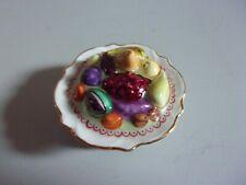 Vintage Hinged Peint Main Limoges France Fruit Bpwl Trinket Box