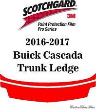 3M Scotchgard Paint Protection Film Pro Series Clear Bra 2016 2017 Buick Cascada