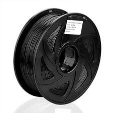 3D ABS Printer Filament 1KG Drucker-  1.75mm  Spule Trommel Rolle-Schwarz