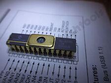 (Qty 1) Microchip PIC16C745/JW USB-enabled microcontroller (DIP-28)  GOLD pins