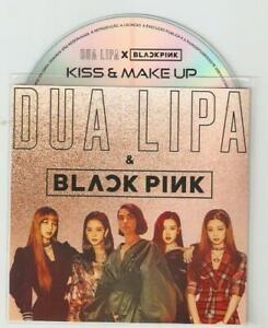 Dua Lipa & Black Pink - Kiss & Make Up - New Rare  Brazilian Promo Cd