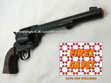 Kolser Replica M1873 CAVALRY PISTOL Revolver Cap Gun Black Finish Prop