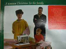 A Singer Christmas for the Family  Mastertone Orchestra  33RPM EX 120215 TLJ