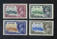 Ckstamps: Gb Stamps Collection Gold Coast Scott#108-111 Mint H Og