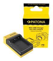 Fujifilm Fuji np-w126 finepix hs30 exr hs30ex Patona slim micro-USB cargador F