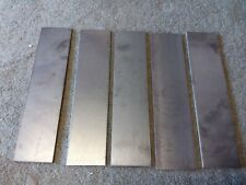 5 x 250mm x 60mm x 3mm Sheet Steel Offcuts Welding Hobby Project Fabrication