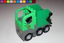 Lego Duplo - Müllwagen Müllauto Müllabfuhr - grün - aus 4659