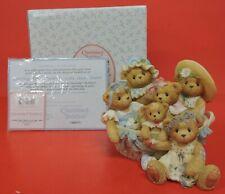 Cherished Teddies Cynthia Ethel Nanette Lola Opal Janel Basket Figurine 789585