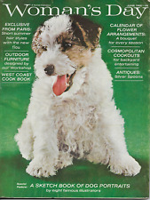 Fox Terrior Woman'S Day 1965 A Sketch Book Of Dog Portraits Famous Illustraters