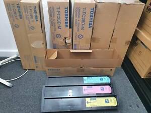 Toshiba Colour and Black and White Laser Printer Toners