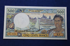 VW81: 500 FRANC 1985 Tahiti Banknote UNC