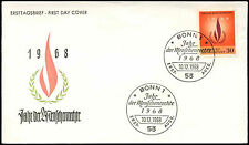 West Germany 1968 Human Rights Year FDC First Day Cover #C29198