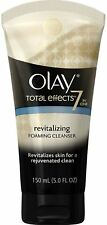 Olay Total Effects 7 in one Revitalizing Foaming Face Cleanser 5 oz (Pack of 2)