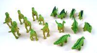 Checkersaurus Rex Replacement 17 piece Green Dinosaur Figures Game Pieces