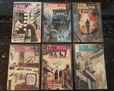 V For Vendetta #1- 10 Complete Series Run Set Dc Comics (1988) Alan Moore