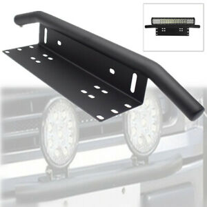 Car Truck SUV Offroad Bumper License Plate Mounting Bracket for LED Fog Light