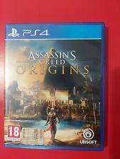 ASSASSIN'S CREED ORIGINS PS4 COME NUOVO ITALIANO