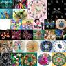 5D DIY Diamond Painting Clock Cat Cross Stitch Embroidery Mosaic Home Wall Decor