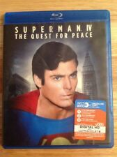 Superman IV 4 The Quest for Peace (Blu Ray Disc) Authentic US RELEASE