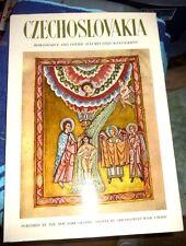 CZECH SLOVAKIA ROMANESQUE AND GOTHIC ILLUMINATED MANUSCRIPTS LOVELY 1958