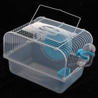 Portable Small Pet Hamster Cage Guinea Pig Gerbils Mice House Cage Habitat