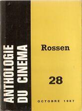 Anthologie Du Cinema #28 Robert Rosen Film Director by Alan Casty IN FRENCH