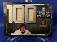 2017 Leaf In The Game 100 Greatest Phil Esposito Game Used Stick 3/3 - Boston