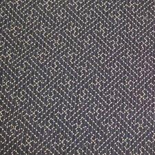 Dark Denim Blue Japanese Cotton Dobby with Good Luck/Determination Sashiko Print