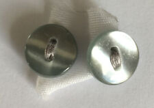 2 х Light Grey Buttons 10 mm