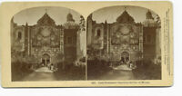 rare First Protestant Church In The City Of Mexico #1072 Stereoview Card, 1873