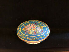 New listing Halcyon Days Floral Blue box