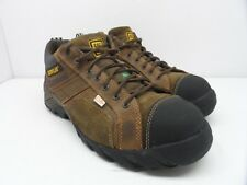 Caterpillar Men's Argon Comp Toe Lace-Up Work Shoe Dark Brown Size 9.5W