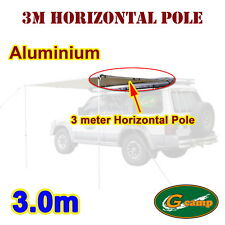 G Camp 3m Horizontal Pole Awning Roof Top Tent Camper Trailer 4wd 4x4 Car Alu.