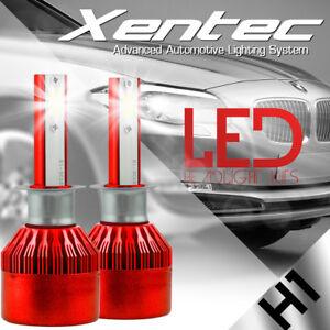 Pair 388W 38800LM LED H1 CREE eadlight Kit Low Beam Bulbs 6500K White High Power
