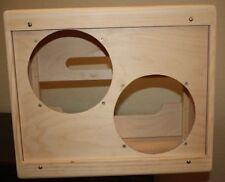 rawcabs dovetail narrow panel suspended baffle 2x10 empty pine Pro Junior combo