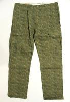 Men's Levi's Slim Straight Cargo I Pants (134690004) Green Camo