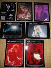 the GazettEthe GazettE TOUR 2007-2008 STACKEDRUBBIS promo7PHOTCARDS JapanLIMITED