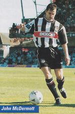 Football Photo JOHN McDERMOTT Grimsby Town 1998-99