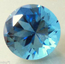 BEAUTIFUL 8 mm BRILLIANT ROUND CUT NEON BLUE OBSIDIAN R1244