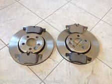 FORD FOCUS MK 2  2.0TDCI 04-TWO FRONT 300M BRAKE DISCS & A SET OF BRAKE PADS SET