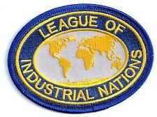 Outland Movie - League of Industrial Nations Logo - Uniform Patch Aufnäher - neu