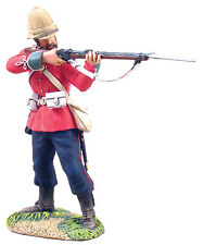 Britains SOLDATI ZULU BRIT 24th piede in piedi che spara wb20071 Militare, Metallo