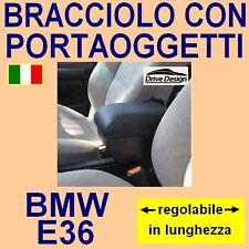 BMW E 36 - E36 - bracciolo REGOLABILE con portaoggetti - facciamo tappeti auto